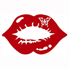 2020 Butterfly Kiss Sexy Lips Mouth Car Truck Window Vinyl Decal Sticker Art Painting Car Stickers Vinyl Decor Decals From Xymy797 5 53 Dhgate Com