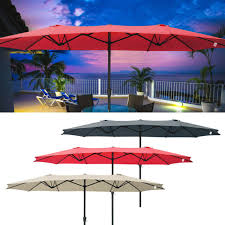 garden treasures patio umbrella red