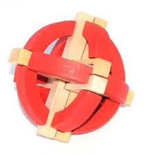 Kong Ming khóa trẻ em câu đố người lớn bằng gỗ thông minh đồ chơi Lu Ban  khóa giải pháp mở khóa trò chơi hơn 6 tuổi | Lumtics