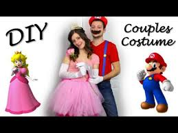 mario diy couples costume