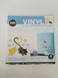 Hip In A Hurry Hih Wall Graphics Vinyl Decal Removable Sticker Cats I Love Mew Ebay