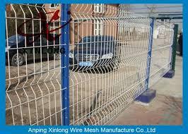bends welded wire garden fence