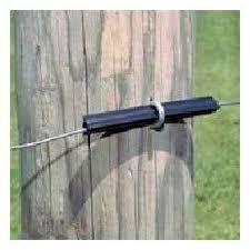 Zareba New 4in Ribbed Tube Insulator Fi Shock 25 Bag Electric Fence Accessories Amazon Co Uk Kitchen Home