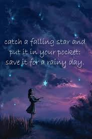 falling star quotes quotesgram