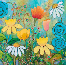 Spring Has Sprung Painting by Peggy Davis