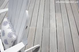 Deck In Wattyl Snow Gum Decking Stain Staining Deck Deck Stain Colors Deck Colors