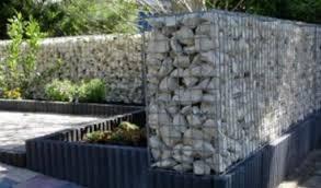 stone gabion baskets limestone walls