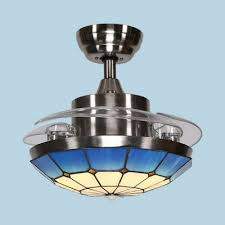 bowl led ceiling with invisible blade