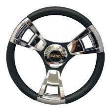 13 Italian Golf Cart Steering Wheel Chrome Shop Ezgo Com