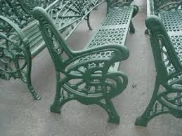 heavy art nouveau garden bench 09hsc17