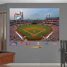 Fathead Mlb Philadelphia Phillies Stadium Mural Wall Graphic Bed Bath Beyond