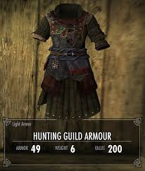 armour hunting in skyrim