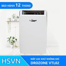 Máy lọc không khí và khử mùi tự động VTL02