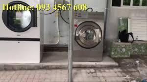Máy giặt HE 40 và máy sấy công nghiệp DE 50 Image Thái Lan - YouTube