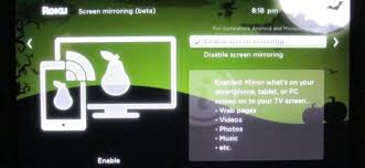 screen mirroring from windows or android