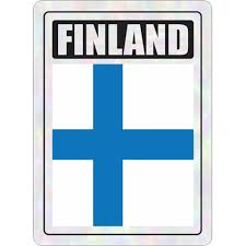 Finland Prismatic Hologram Car Decal Sticker Flags N Gadgets
