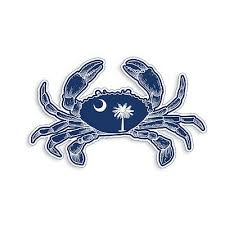 Motors Maryland Crab Sticker Md State Flag Cup Laptop Car Vehicle Window Bumper Decal Car Truck Graphics Decals