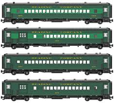 Reading Arch Roof Coach And Combine Decal Set Brick Model Railroader
