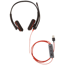 Buy the Poly 209745-22 BLACKWIRE C3220 UC STEREO USB-A CORDED ...