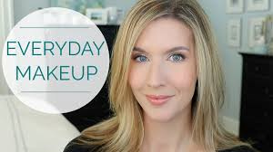 natural everyday makeup tutorial over