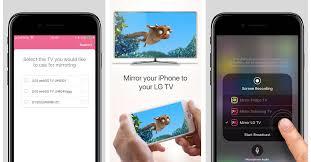 phone to tv mirror iphone x lg