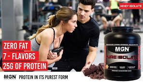 pure whey protein isolate by muscle