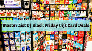 black friday gift card deals