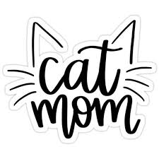 Cat Mom Sticker By Mvillstyles In 2020 Cricut Projects Vinyl Popular Decal Cat Decal