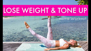 how to lose weight tone up home