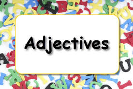 Image result for adjectives