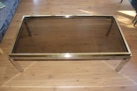 flaminia glass coffee table by
