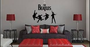 The Beatles Wall Decals Music Bedroom Music Bedroom Decor Music Themed Bedroom