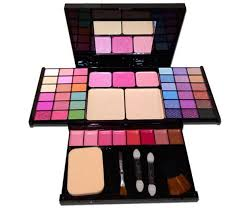 set box cosmetic tray 49 color pearl