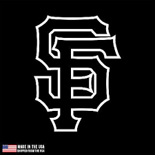 Sf Giants Logo California Vinyl Sticker Car Laptop Room Decal San Francisco 0 99 Picclick