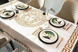 letter luxury design waterproof table