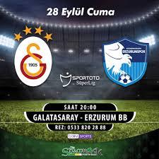 The Shamrock - Galatasaray - Erzurum BB maçı bu akşam...