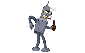 bender futurama wallpaper cartoon