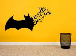 Bat Flying Bats Vinyl Wall Decal Sticker Super Hero Vinyl Etsy