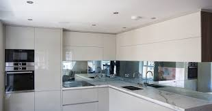 kitchen splashback mirror tv
