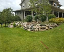 retaining walls before after