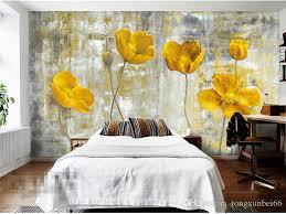 yellow flower photo wallpapers murals