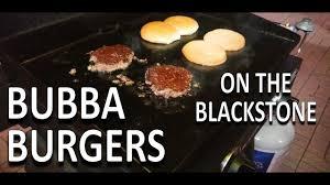 bubba burgers on the blackstone 22