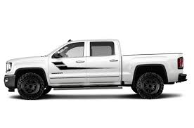 Gmc Sierra 2014 2017 Custom Vinyl Decal Wrap Kit Side Stripe Factory Crafts