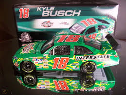 18 Kyle Busch Interstate Batteries 2008 1 64th Ho Scale Slot Car Decals