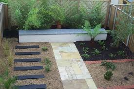 diffe stone paving with garden concepts