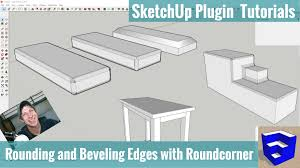 Roundcorner For Sketchup Tutorials The Sketchup Essentials