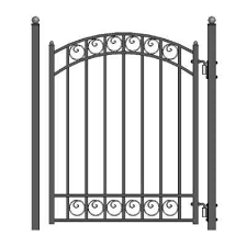 Metal 4 Gate Metal Fencing Fencing The Home Depot