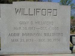 Addie Robinson Williford (1884-1956) - Find A Grave Memorial