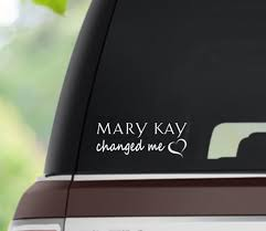 Mary Kay Changed Me Vinyl Decal Etsy