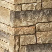 Deckorail 8 1 4 In X 8 1 4 In X 4 1 2 Ft Composite Beige Stacked Stone Fence Postcover 186754 The Home Depot